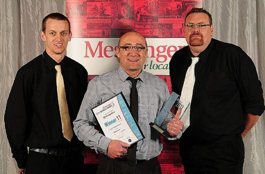 Messenger Local Business Awards 2011 - Winner MD Auto Care